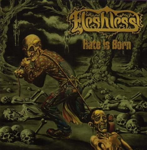 Fleshless - Hate is Born (Digipack CD)