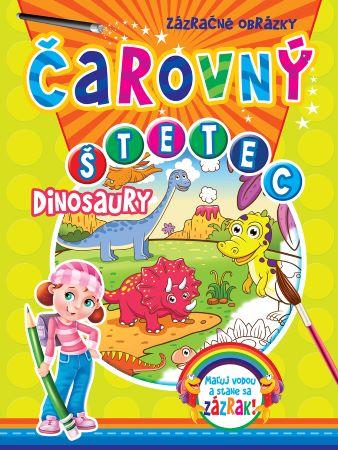 Čarovný štetec - Dinosaury - Maľuj vodou a stane sa zázrak!