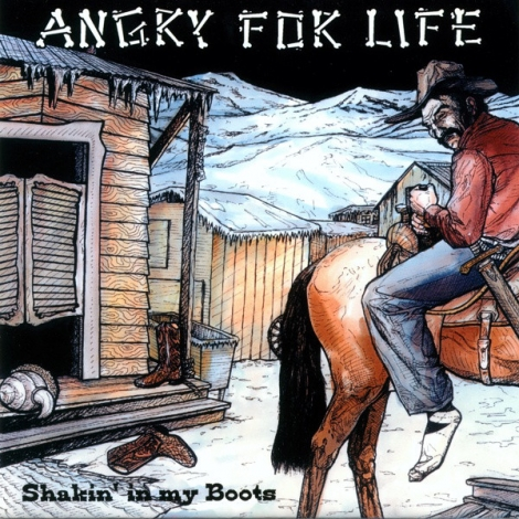 Angry For Life  - Shakin' In My Boots (Vinyl EP)