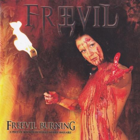 Freevil - Freevil Burning (CD)
