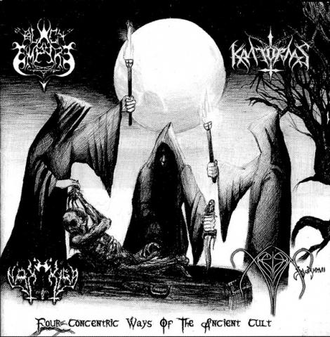 Black Empire / Kratornas / Nakkiga / Xerión - Four Concentric Ways Of The Ancient Cult (CD)