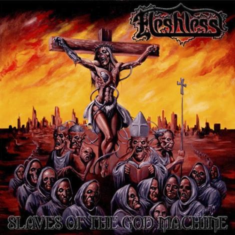 FLESHLESS - Slaves of the God Machine (LP)