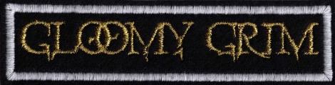 GLOOMY GRIM - Zlaté logo