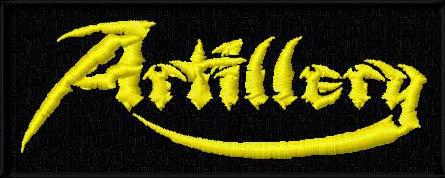 ARTILLERY - Žlté logo